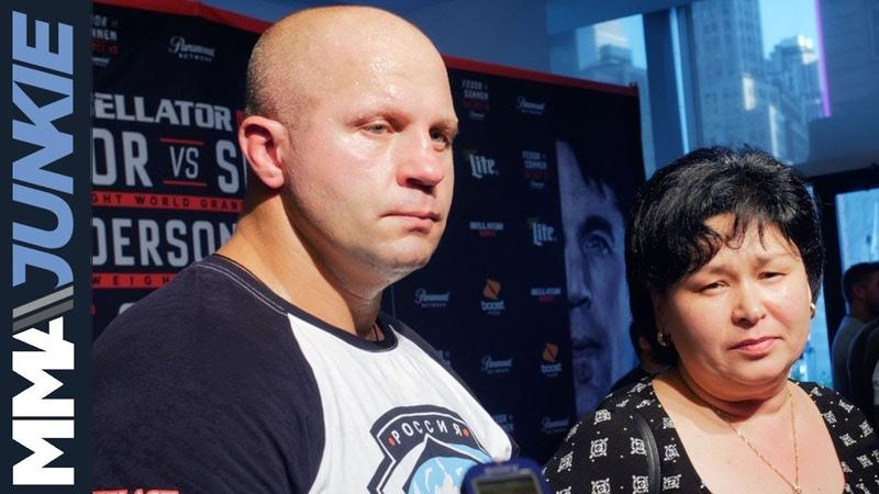Интервью Фёдора Емельяненко перед турниром Bellator 208 (видео)