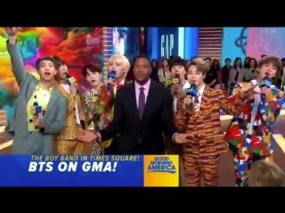 First cut - BTSonGMA - Good morning America with BTS - - @BTS_twt 방탄소년단 BTSARMY BTS