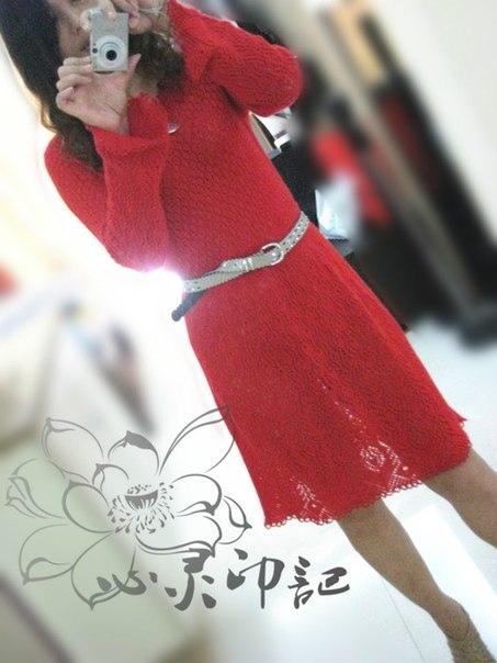 Шикарное платье — подборка схем (10 фото) - картинка