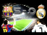 Barcelona Vs Real Madrid 5-0  | Full Match 29.11.2010 HD