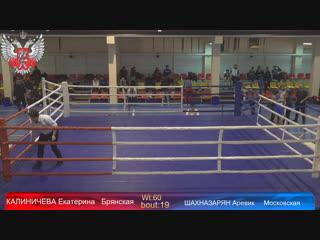 Первенство Центрального федерального округа России по боксу среди девушек (13-14; 15-16; 17-18; 19-40 лет)