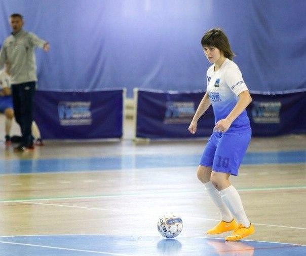 Орловчанка Юлия Нелюбова отметилась дебютным голом за сборную России по мини-футболу