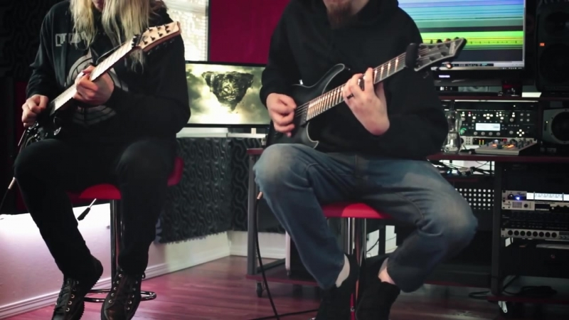 Conquering Dystopia- Autarch (Guitar Play-Through) Jeff Loomis, Keith Merrow