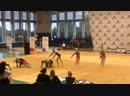 Соревнования по эстетической гимнастике в Артеке