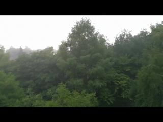 Сильный дождь в Ставрополе 16 07 18