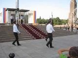 Смена караула Бишкек Киргизия