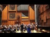 Солистка театра «Мюзик-Холл» Анна Викулина выступает в Консерватории Неаполя «Сан Пьетро а Майэлла».