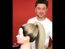 Урок о том как сделать тугой гладкий высокий хвост