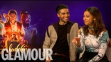 Aladdin's Naomi Scott &amp Mena Massoud's dating advice