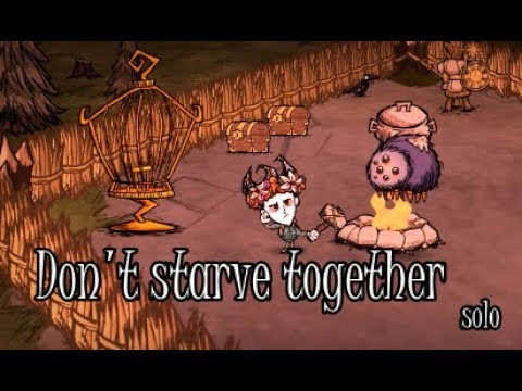 Don't starve together solo Гломмер и гончие