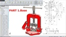 SolidWorks Tutorial Design of Pipe Vice Part
