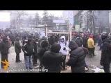 На Грушевського будують катапульту (20.01.2014)