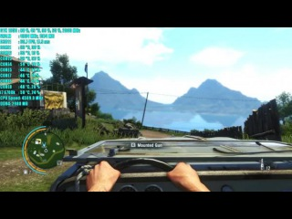 Far Cry 3 GTX 1050 2GB | 1080p Ультра Настройки | Фреймрейт ТЕСТ