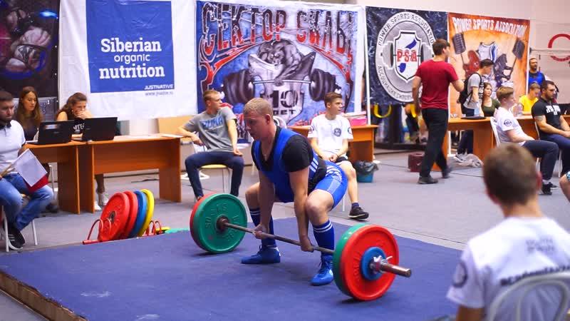 Андрюша вторая попытка 180 кг на Н С О 2018 бердск