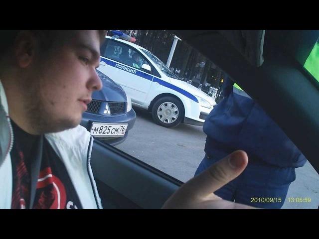 инспектор ДПС нарушает свободу гражданина, тонировка, железный аргумент