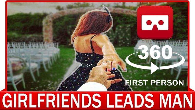 360° VR VIDEO - FollowMeTo - Girlfriend Leads Man Around The World   VIRTUAL REALITY 3D