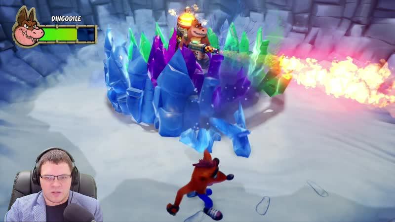 Прохождение Crash Bandicoot 3: Warped – Боссы!
