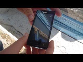 обзор телефона SONY XPERIA J