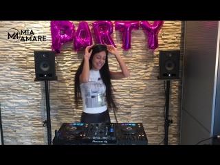 Russian Deep House Mix Djane Mia Amare Русская Музыка Best Remixes 2017 Pioneer XDJ RX (1)