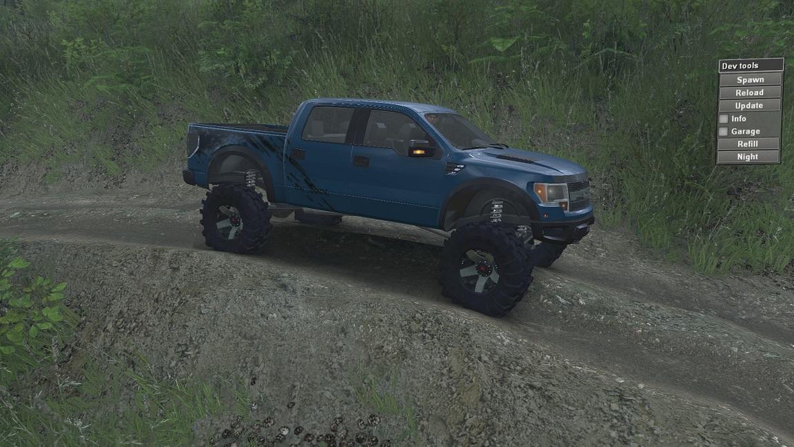 SID Ford Raptor SVT для 23.10.15 и 8.11.15 для Spintires - Скриншот 1
