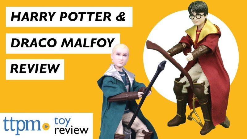 Harry Potter Draco Malfoy Quidditch Dolls from Mattel