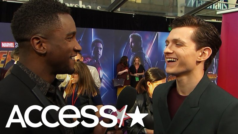 'Avengers: Infinity War': Tom Holland Says Playing Spider-Man Has Been A 'Dream Come True'   Access