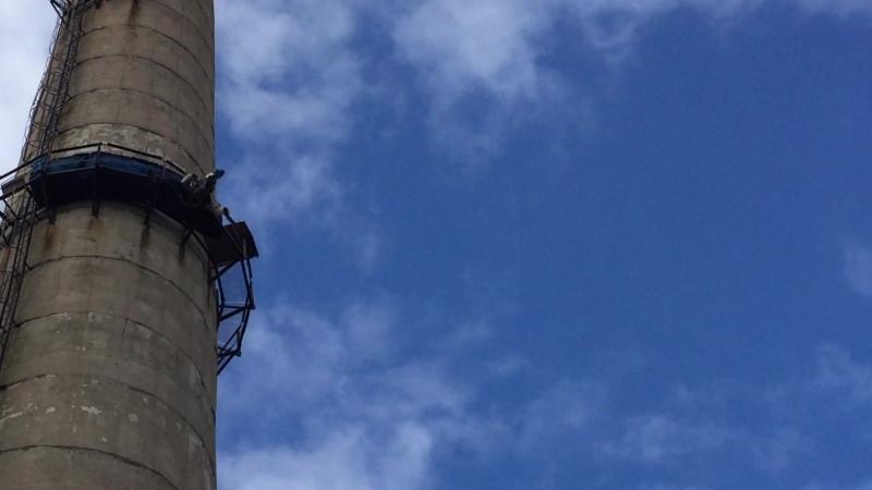 Прыжок Фановая труба 88 метров