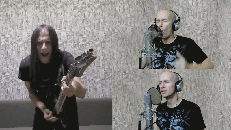 Gamma Ray - The Heart of the Unicorn (split screen collab cover)
