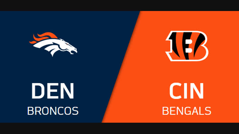 NFL 2018-2019 / Week 13 / CG / Denver Broncos - Cincinnati Bengals / EN