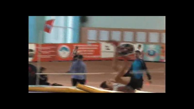 27 января Иван Скобцов Забег на 400 м 4 место. 55,3 с