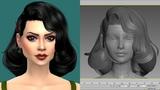 Speed modeling - Hair - Patreon Marzo