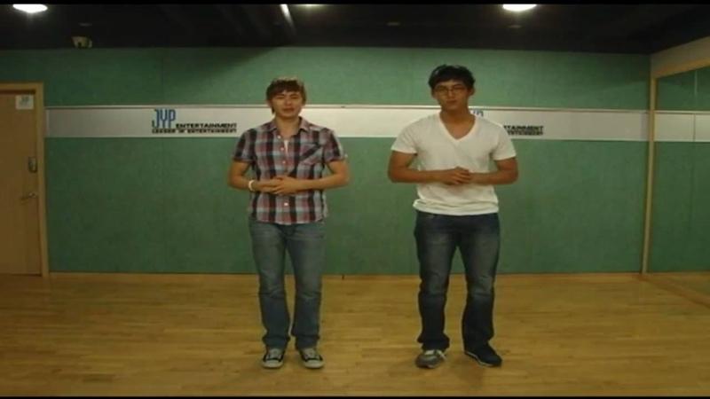 HD 2PM Nichkhun Taecyeon CABI Dance Guide Ep 1