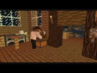Издевательства над курицей в Майнкрафте ( Добыча еды ) Mine-Imator