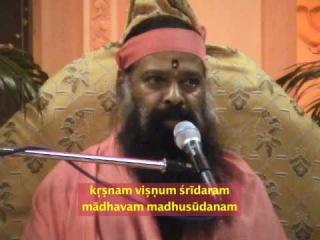 Krishnum Vishnum bhajan by Sri Ganapati Sachchidananda Swamiji