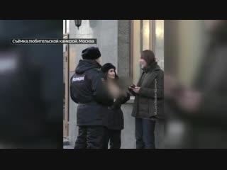 Кира Майер выдает себя за полицейского