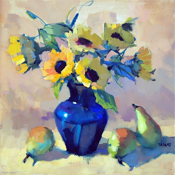 Художник - импрессионист Триша Адамс / Trisha Adams (США). Триша начала писать в 2001 году и к 2004 году стала профессиональной