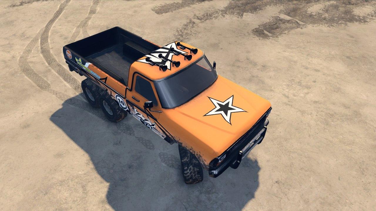 Ford(Truck Fire jump) для Spintires - Скриншот 1