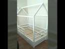 Домик-кроватка