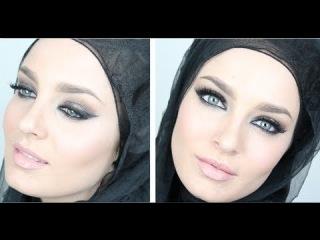 Eid Makeup: Gold & Purple Arabic Smokey Eye