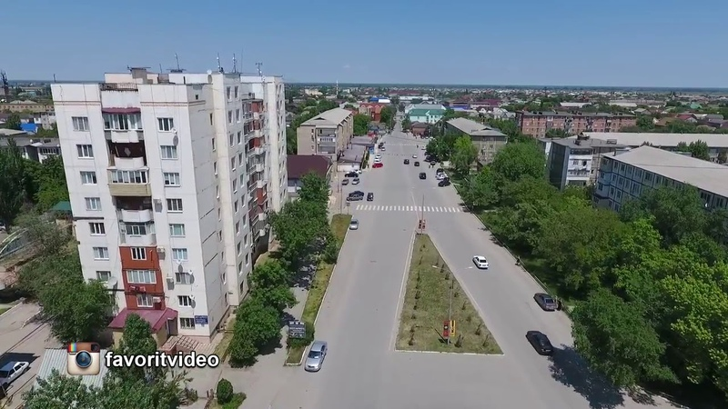 Дагестан. Город Кизилюрт с высоты птичьего полета (29 мая 2017 года)