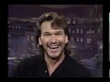 1993 Patrick Swayze interview (Jay Leno- Tonight Show)