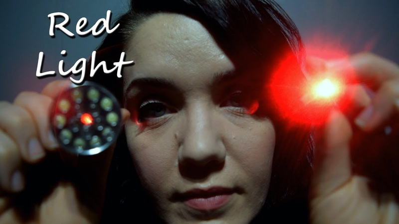 ASMR Red Light Triggers and Whispering