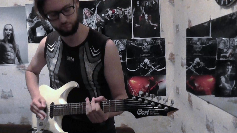 Behemoth - Chant For Eschaton 2000 (Satanica) - riffs cover
