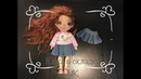юбка в складку МК pleated skirt MC Одежда для кукол Джинсовая юбка