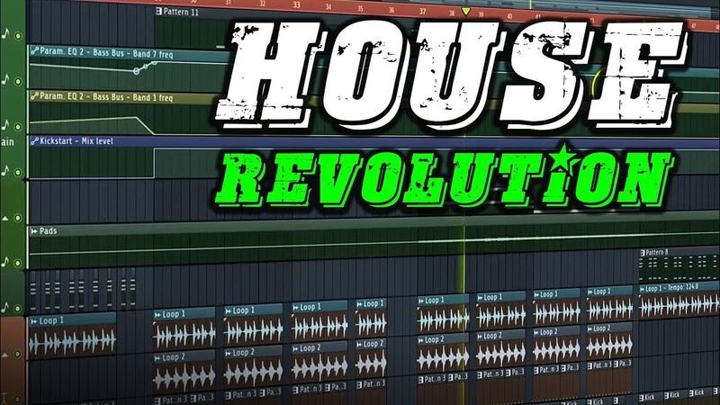 House Revolution | 3,7 GB Of FL Studio Templates, Melodies, Serum Presets More!