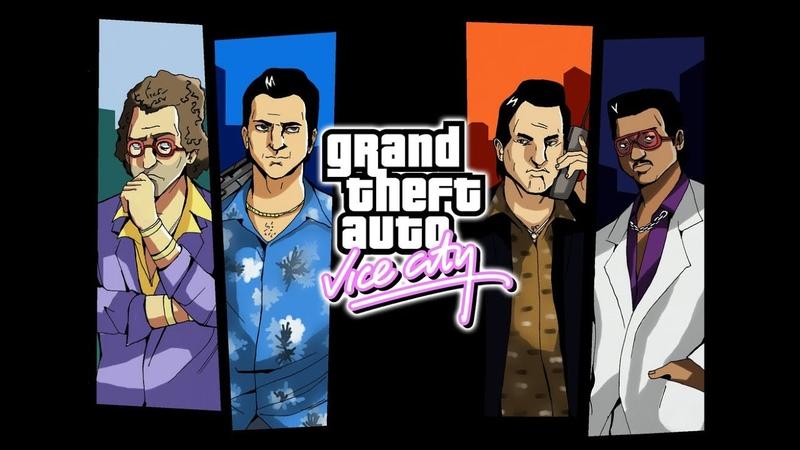 Grand Theft Auto Vice City All Cutscenes Game Movie PC 1080p 60FPS