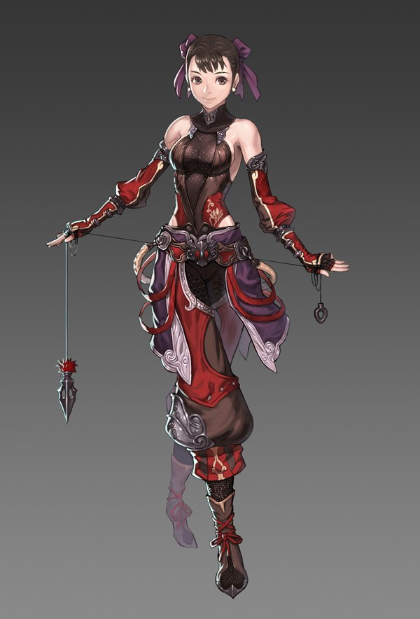 Badass Anime Character Design : Images about female rogue monk assassin on pinterest