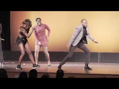 Crazy Afrobeat VS Haitians Dance Battle! | Sherrie Silver Live
