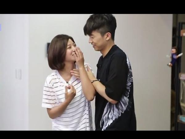 HOT 우리 결혼했어요 우영♡세영 춤 추다가 스킨십 눈만 마주쳐도 후끈~ 20140719