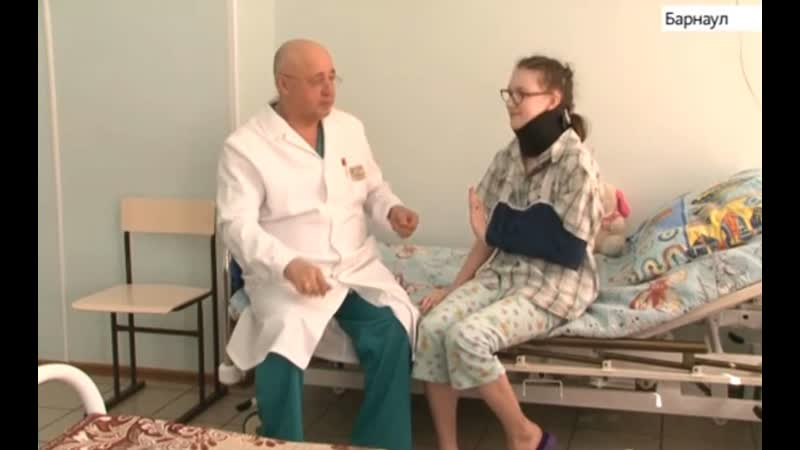 Алтайские ортопеды провели редкую операцию подростку